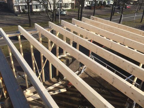 Timmerwerk Houtskeletbouw met Balklaag